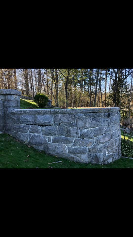 Stone Wall Repair / Restoration - Bedrock Mason Worx LLC